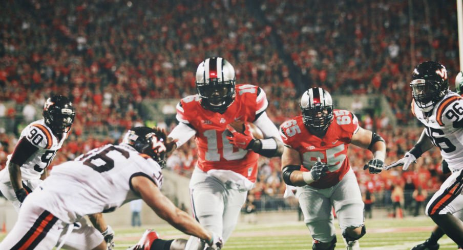 J.T. Barrett was the surprise bright spot in the running game for Ohio State.