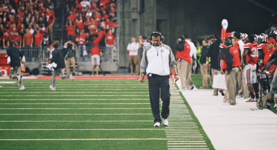 Urban ponders the end of Ohio State's 25-game regular season unbeaten streak