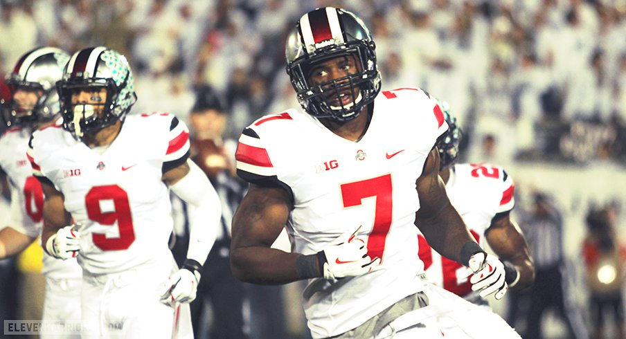 Rod Smith has been dismissed from Ohio State's football team.