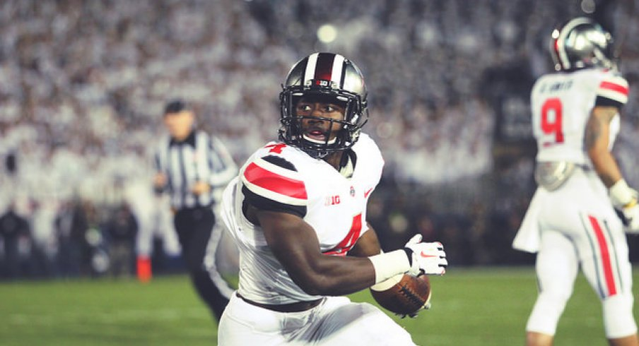 With the ousting of Rod Smith, Curtis Samuel is now Ohio State's backup running back behind Ezekiel Elliott.