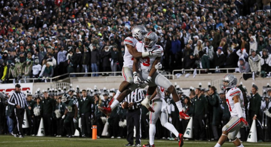 After upsetting Michigan State, Ohio State avenged its Big Ten title game loss and reasserted itself firmly into the national picture.