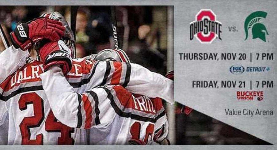It's Big Ten hockey time!
