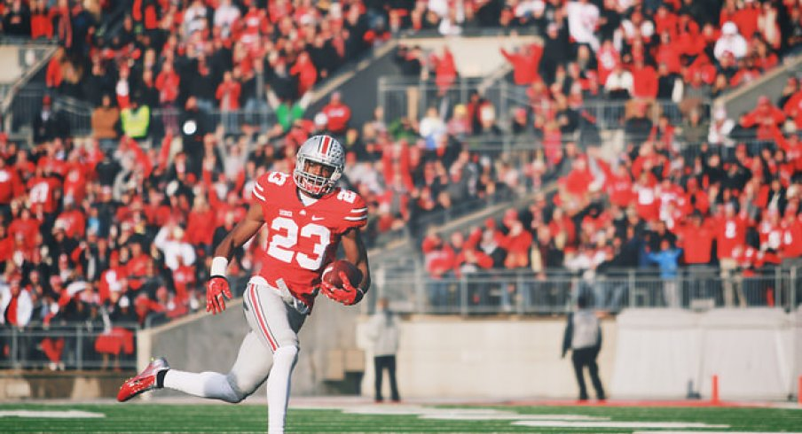 After a brief scare against Indiana, Ohio State pulled away from the Hoosiers and kept itself in the national picture.