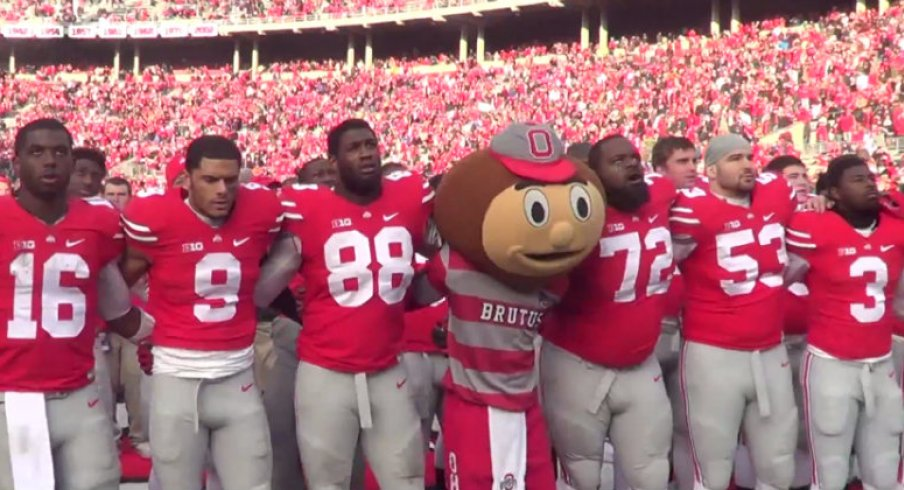 Watch Ohio State sing Carmen Ohio after rallying past Indiana Saturday afternoon.