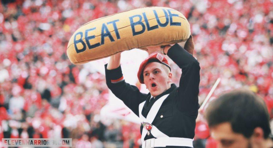 Beating Blue is always a blast.