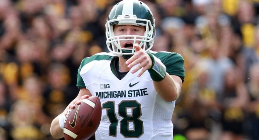 connor cook looking like a young brett favre