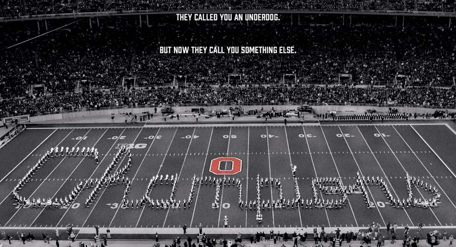 Nike saluted Ohio State's national championship.