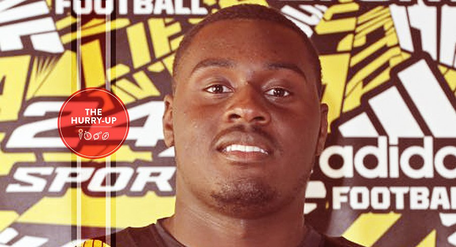 Maryland offensive lineman Isaiah Prince