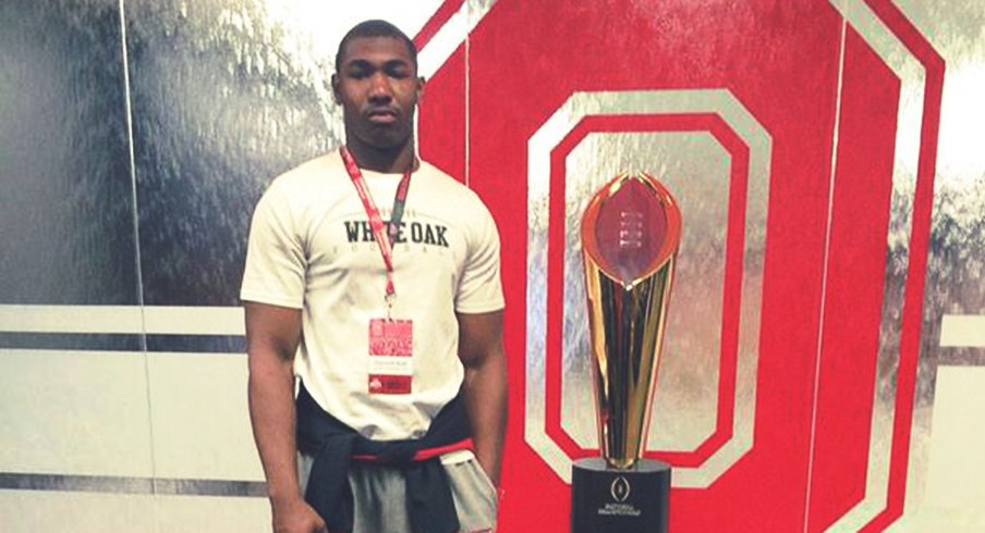 Terrelle Hall has committed to the Buckeyes.