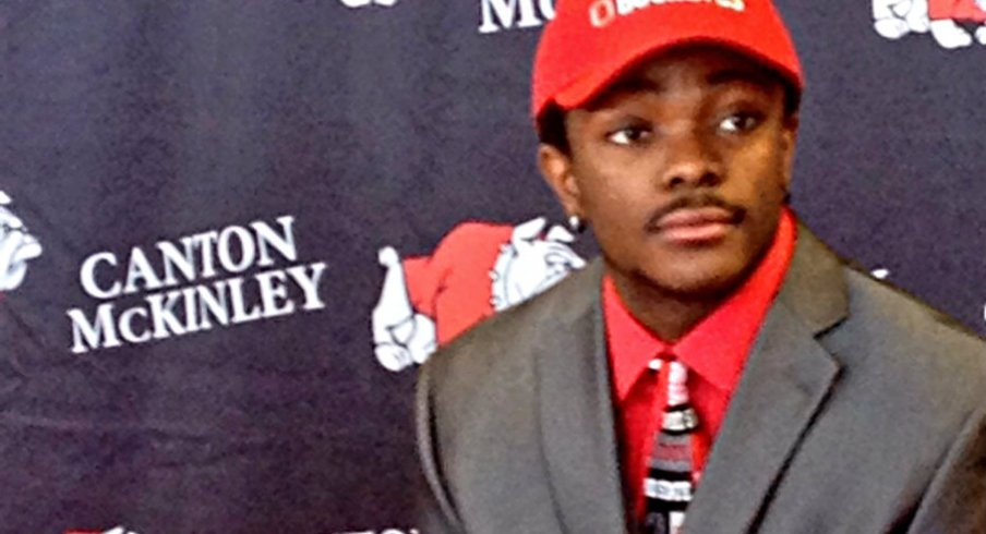Eric Glover-Williams on National Signing Day.