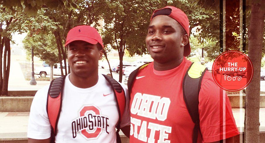 Justin Hilliard and Jashon Cornell, big-time players and recruiters.
