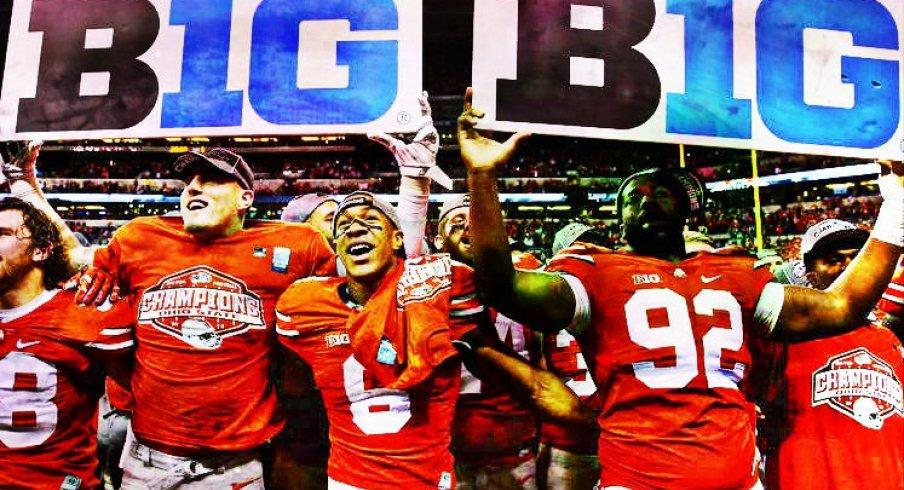Buckeyes win 2014 Big Ten Championship