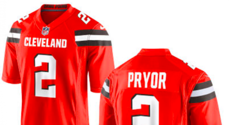 terrelle pryor jersey browns