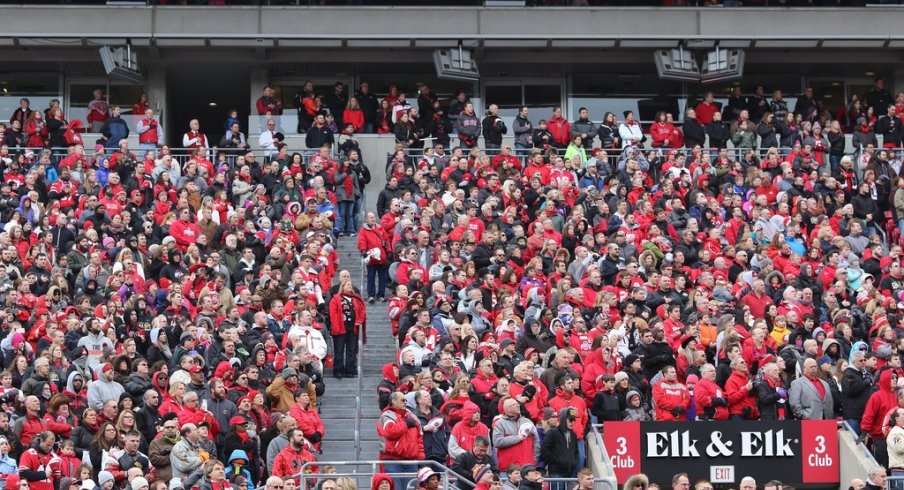 A look at the stadium ejections and arrests at Big Ten football stadiums in 2014.