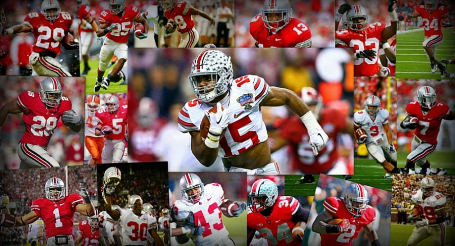 Ohio State starting RBs since 1995