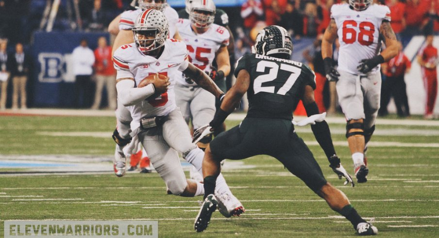 Braxton Miller in the B1G Title Game