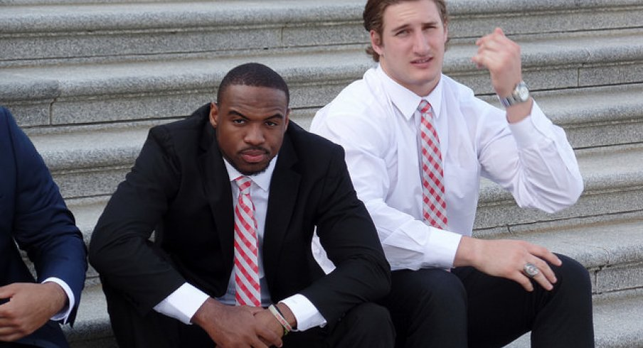 Tyvis Powell and Joey Bosa