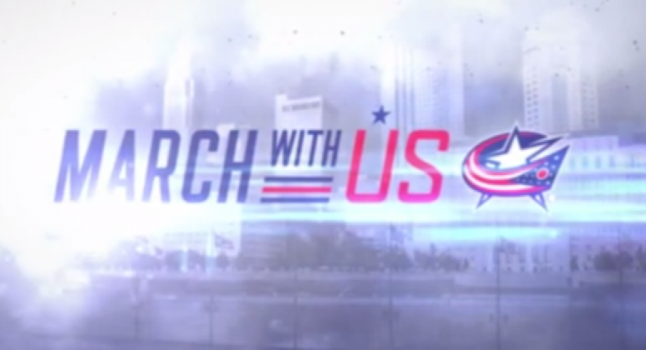 March with us