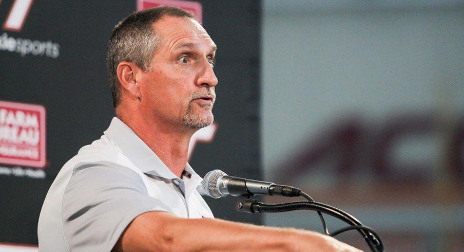 Virginia Tech defensive coordinator Bud Foster