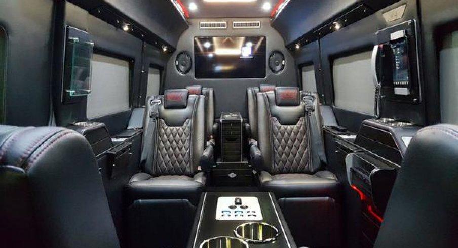 Nick Sabans New 200K Luxury Nine Passenger Van