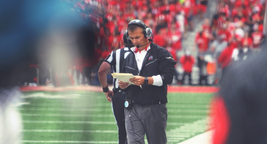 Was the play-calling to blame for the lacking offensive production against Northern Illinois?
