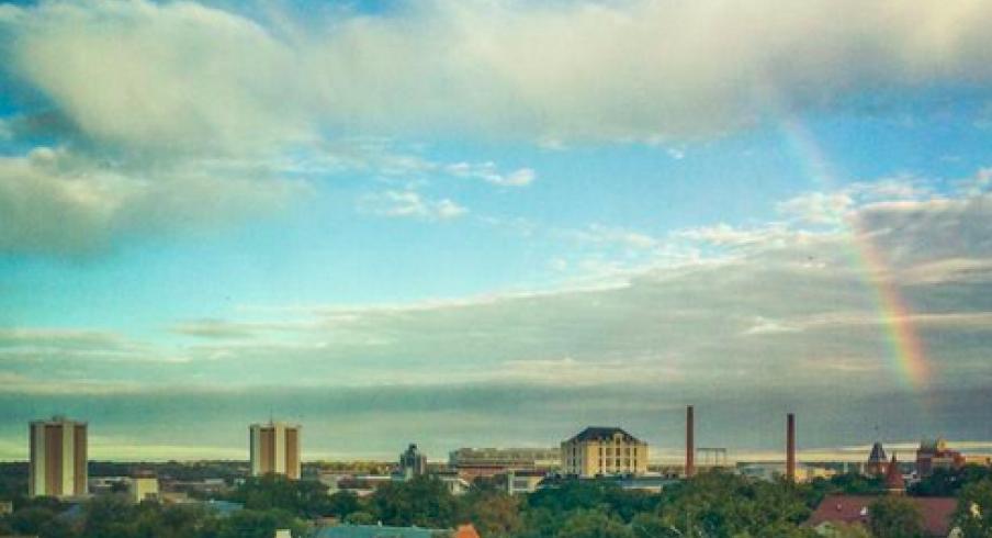 Rainbow over Ohio State