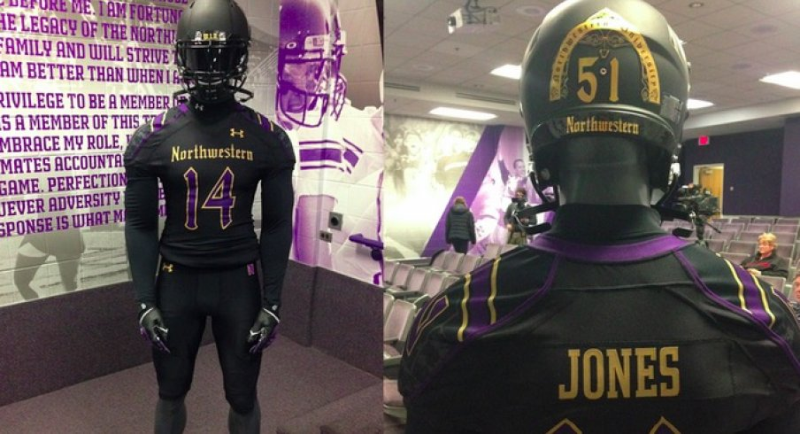 promo code 5ded5 82e9d Northwestern Bringing Back Its Gothic Uniforms for Some ...