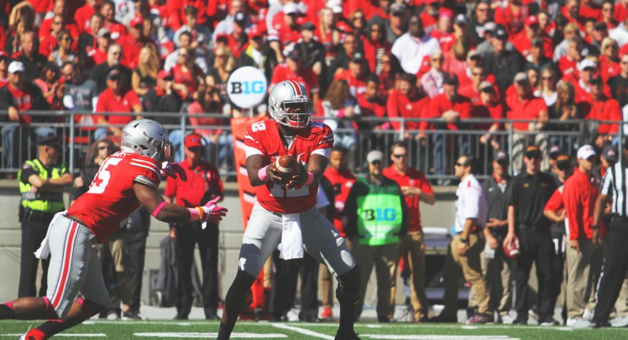 Jones excelled at running the option against Maryland