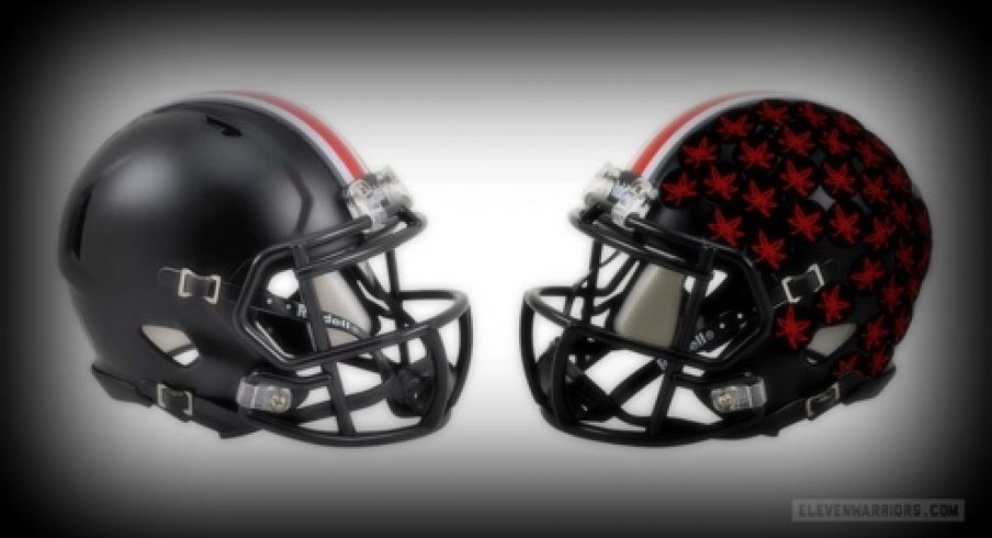 Photo The Helmet Stickers Ohio State Will Wear On Black