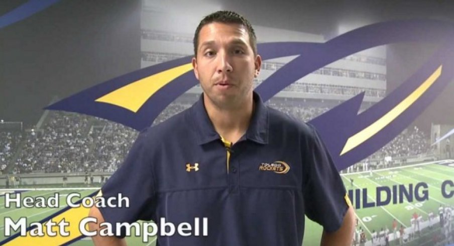 Matt Campbell, Toledo Coach