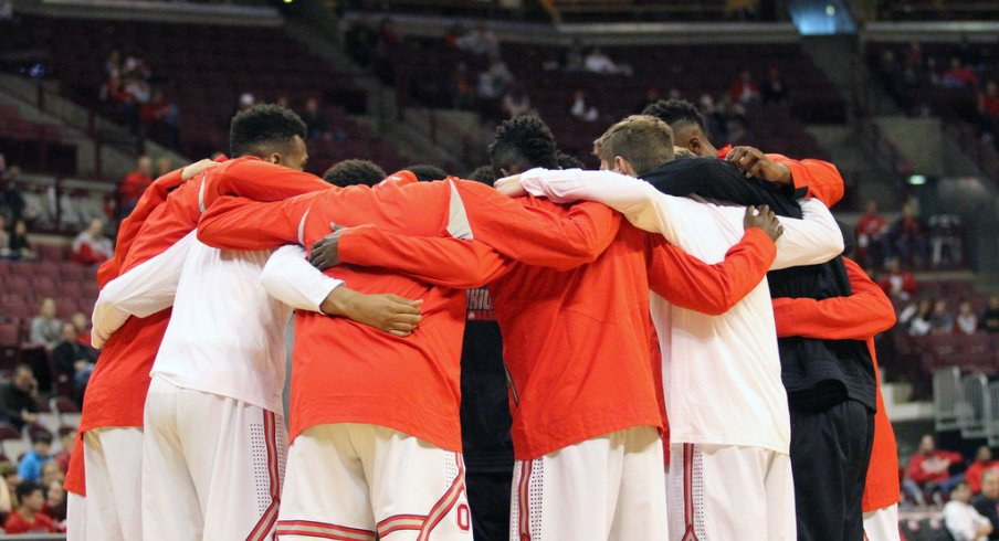 The team huddle will gain more size next year