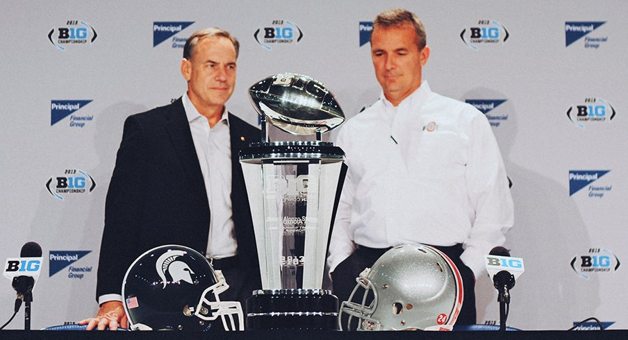 Meyer and Dantonio will go head-to-head yet again on Saturday.