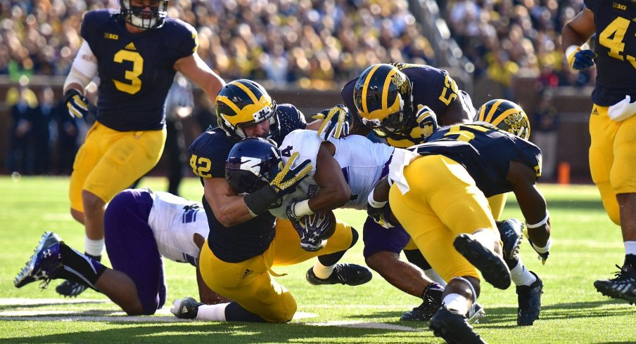 The defense in Ann Arbor has played above expectations this fall