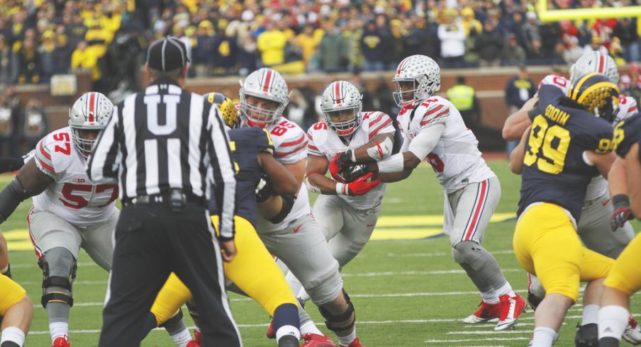 Barrett made all the right choices Saturday in Ann Arbor