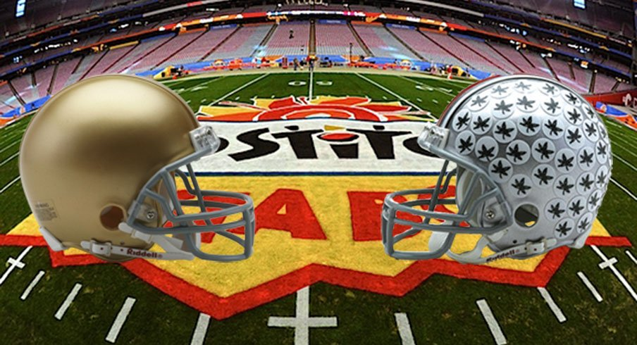 Ohio State will face Notre Dame in the Fiesta Bowl.