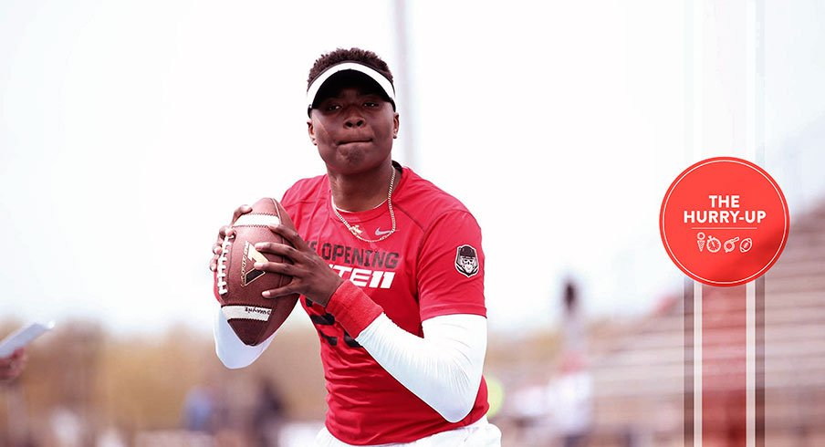 Dwayne Haskins is back on the Buckeyes' minds.