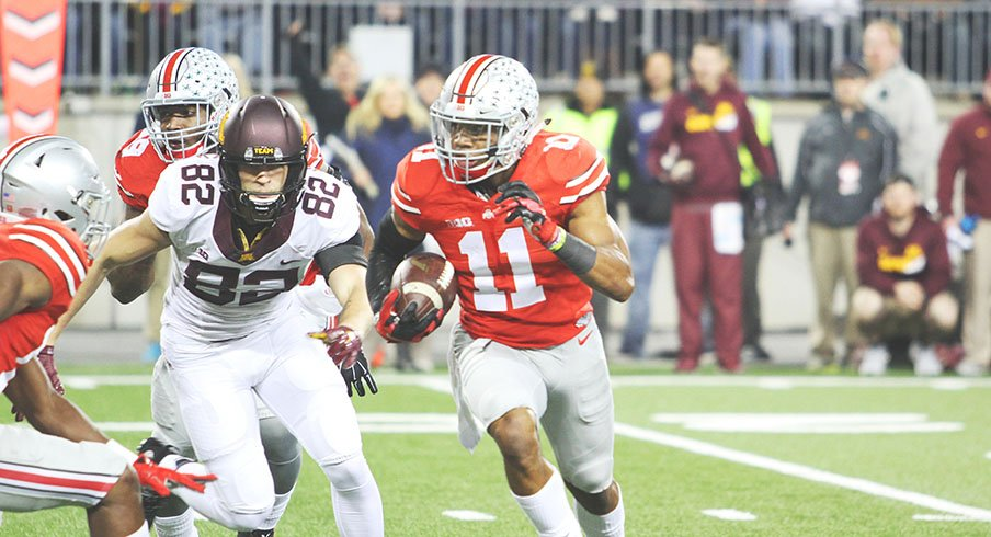 Vonn Bell and Taylor Decker were named First Team All-Americans by the AP.