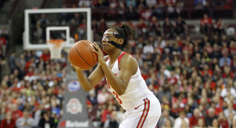 Kelsey Mitchell leads Buckeyes in their dominating win over North Carolina A&T