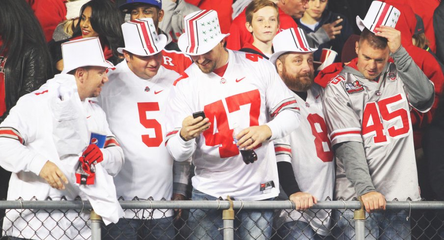 Ohio State fans aren't exactly scarfing up tickets to the Fiesta Bowl.