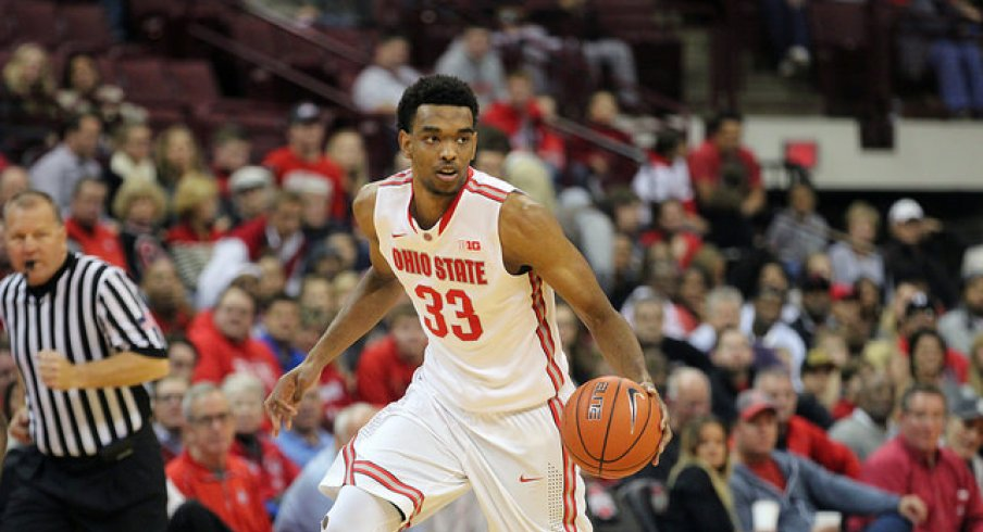 Keita Bates-Diop posted a career-best three three-pointers in the first half.