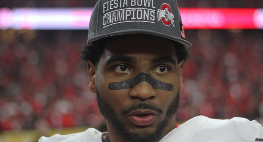 Braxton Miller after his final collegiate game.