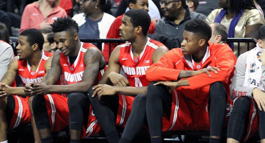 Ohio State's bench.