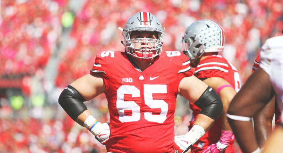 With Pat Elflein shifting to center, who takes his right guard spot?