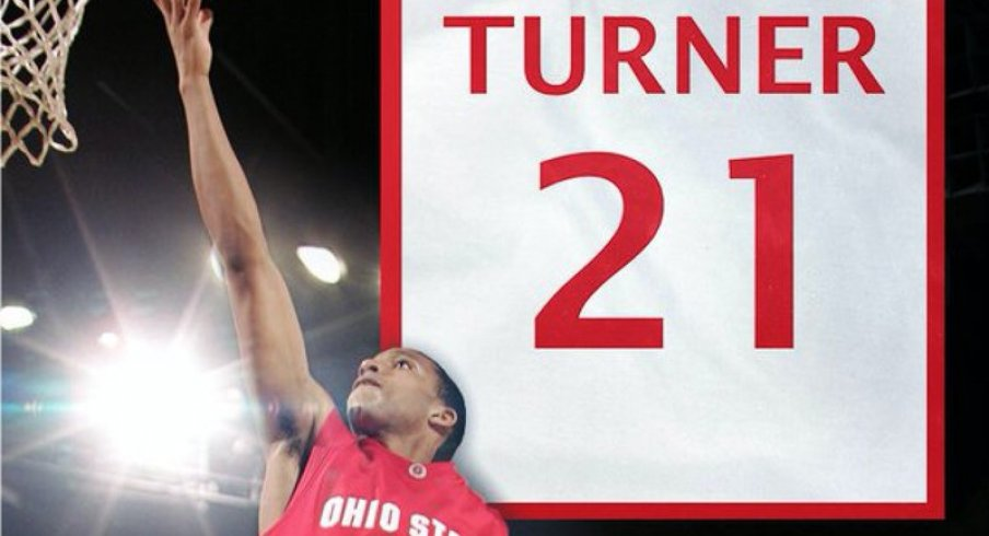 Ohio State will retire Evan Turner's number in February.
