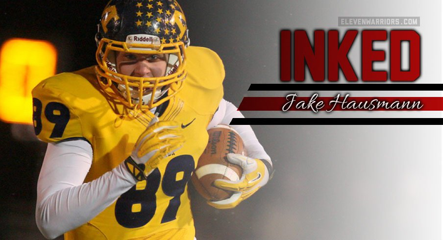 Jake Hausmann signed with Ohio State on Wednesday.