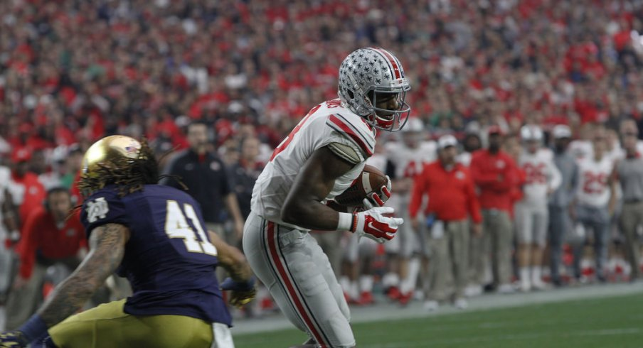 Ohio State players didn't catch many passes in 2015, but still believe the school prepared them for the NFL.