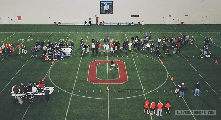 ESPN and the NFL Network will both televise live from Ohio State's Pro Day.