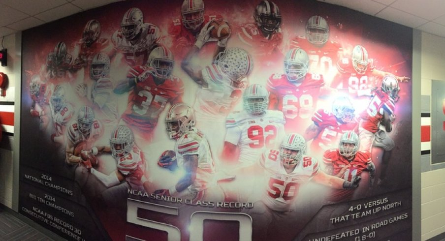 Charming New Mural At The Woody Hayes Center. OSU Football Part 15