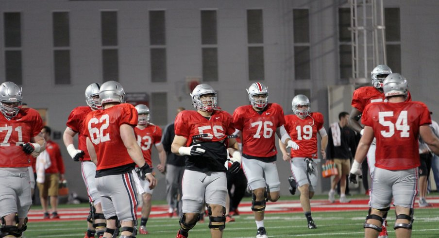 Ohio State's offensive line has a few questions in 2016.