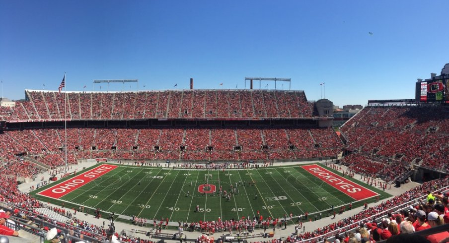 Ohio State sets spring game record for attendance.